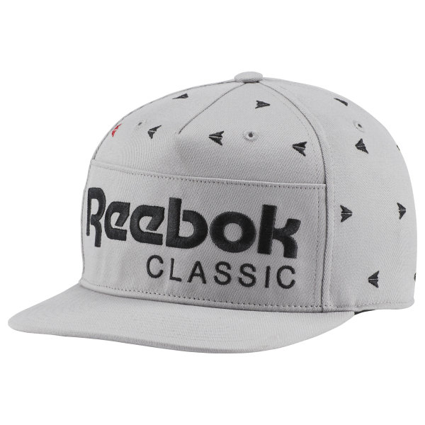 Reebok Classic Embroidered Hat - Grey  30a355c481e