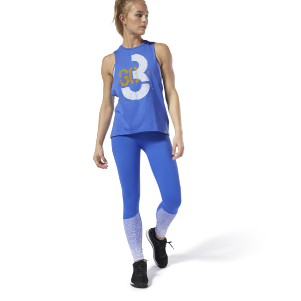 Reebok CrossFit® Lux Fade Tights - Blue  a0ae5efafe