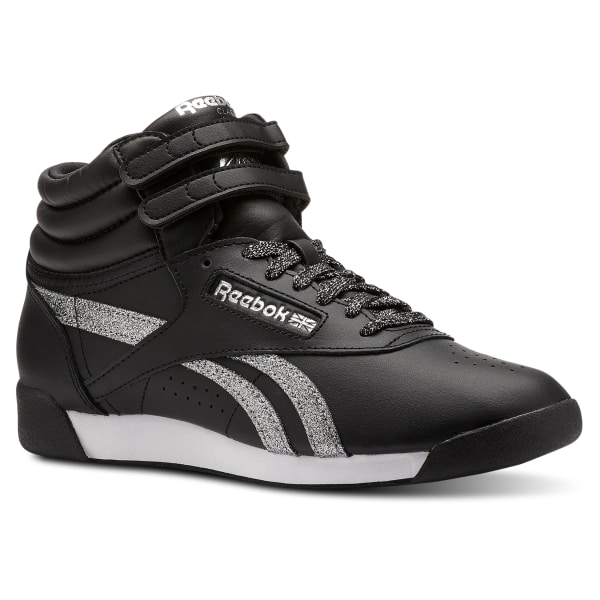 2967ea8448d2c Reebok Freestyle Hi - Black