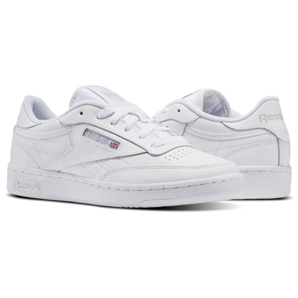 Club C - Grade School White   Sheer Grey V50438 d4d7bdb25