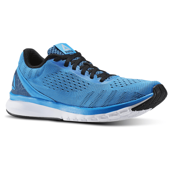 4e2c1f81e6f Tênis Reebok Print Smooth Horizon Blue Black White Pewter Awesome Blue  BD4531