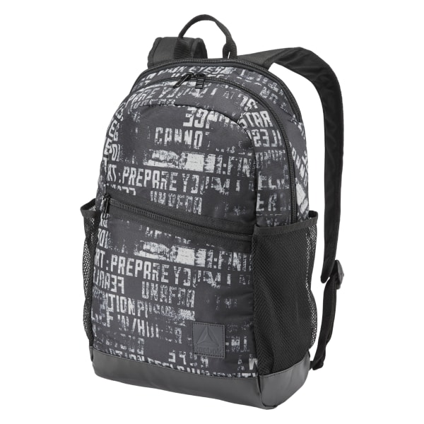 Reebok Style Foundation Active Graphic Backpack - Black  4ae0005184205