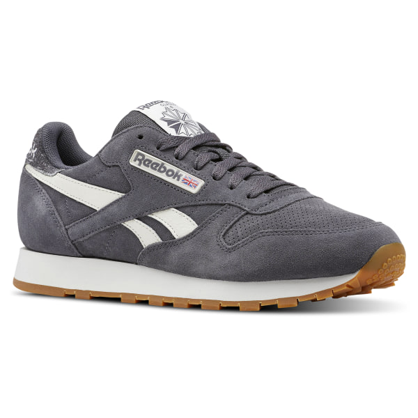 Reebok Classic Leather MU - Grey  1808f0081