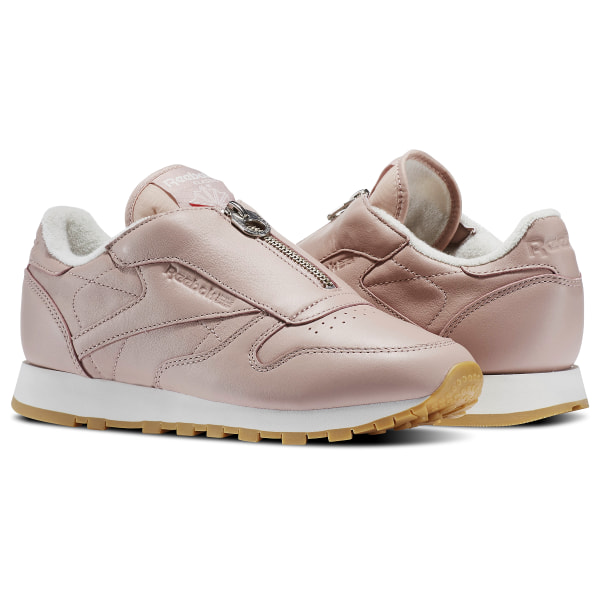 Reebok Classic Leather Zip - Pink  12ab82cca