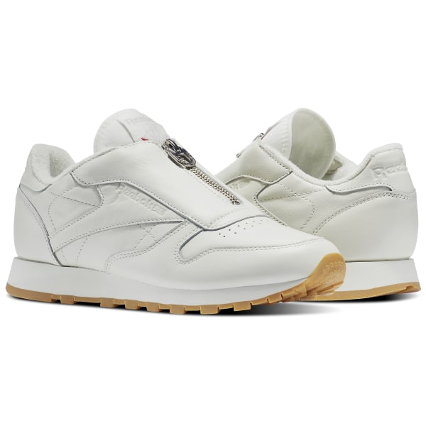 Reebok Classic Leather Zip - White  43d392966