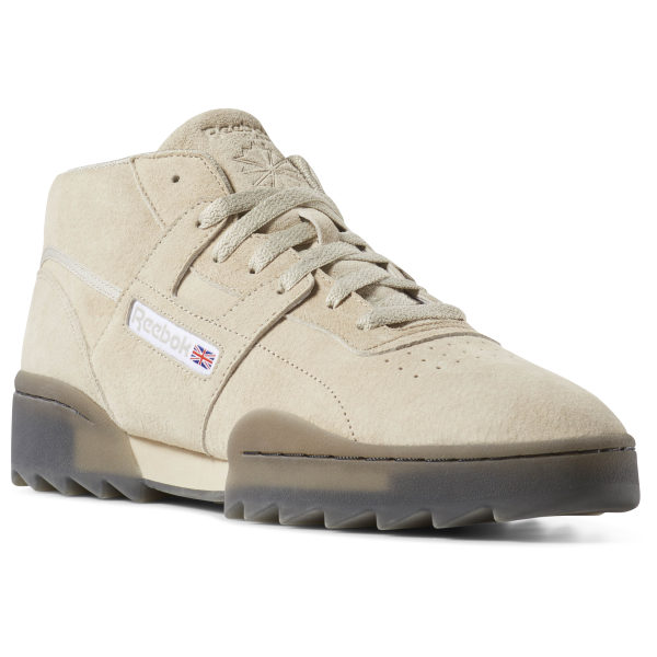 9121aba38860 Reebok Workout Clean Mid Ripple - Beige