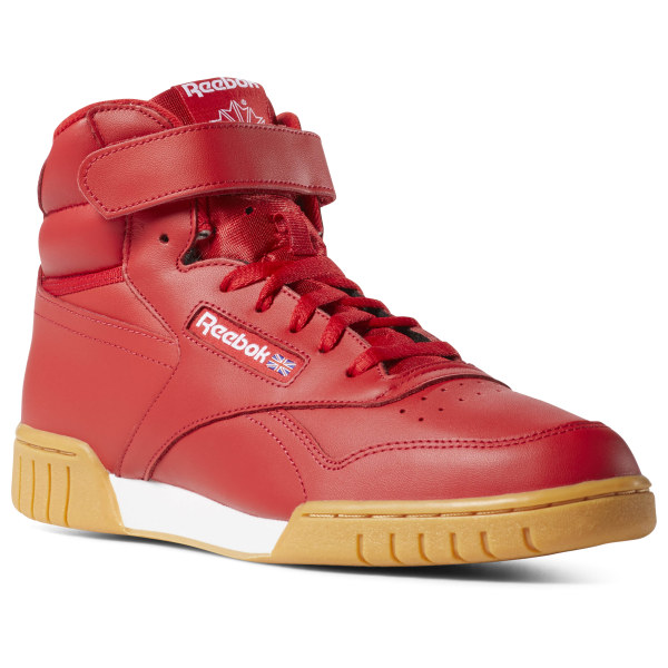 455daec056d744 Reebok Ex-O-Fit Hi - Red