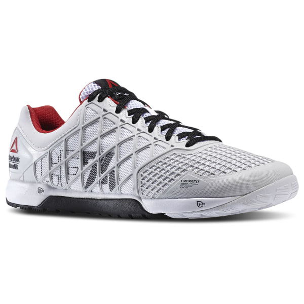 ca92397fbab36d Reebok CrossFit Nano 4.0 Porcelain Black White Excellent Red M43436