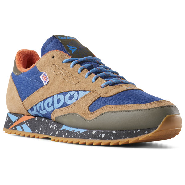 d98c16870 Reebok Classic Leather Ripple Altered - Blue
