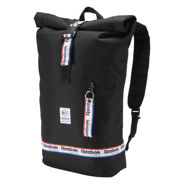 Reebok Classics Graphic Taping Backpack - Black
