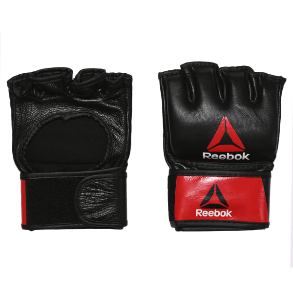 fcf4f7a4b70 Combat Leather MMA Glove - Medium Black   Red BH7249