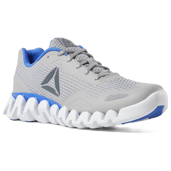f1906396ea7 Reebok ZIG PULSE - SE TIN GREY   VITAL BLUE   ALLOY DV3708