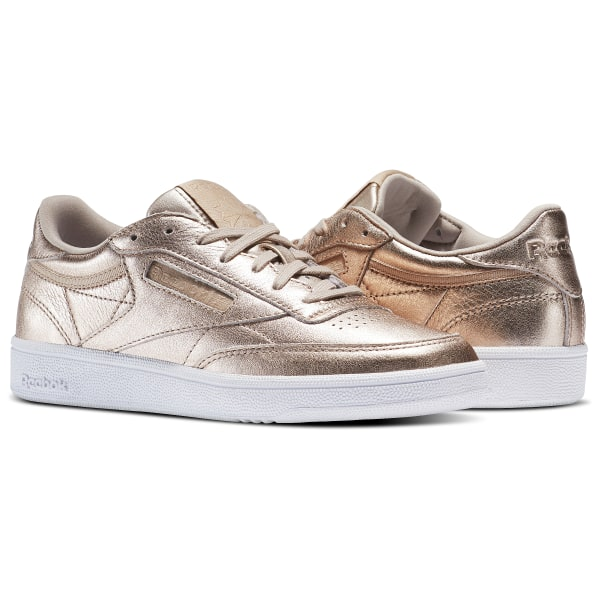 Reebok Club C 85 Leather - Pearl Met  8a9ec6d4e