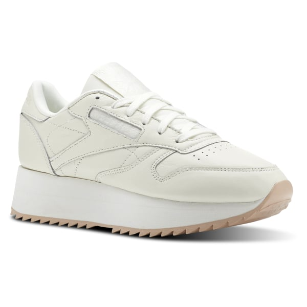 733eb46c2be00 Reebok Classic Leather Double - Beige