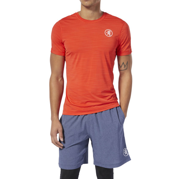 47a274edbe54cb Reebok Rich Froning Jr. ACTIVCHILL Move Tee - Red