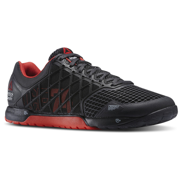 90abf117737 Reebok CrossFit Nano 4.0 Black   China Red   Gravel M43438