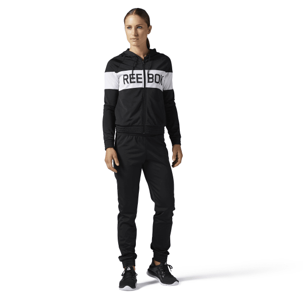 f83b78704447 Reebok Training Essentials Tricot Tracksuit - Black