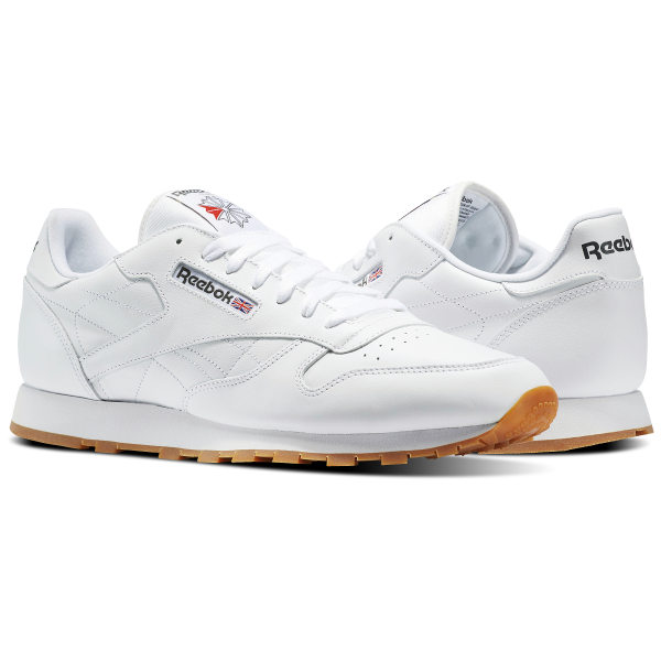 Reebok Classic Leather - White  f4a062844