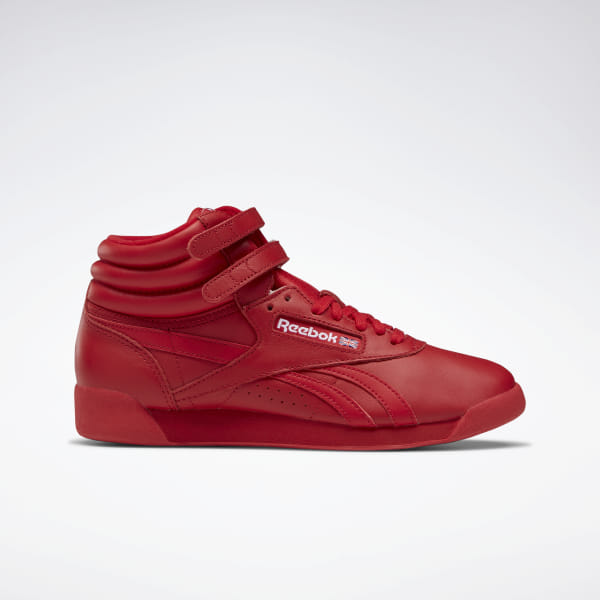 Reebok Freestyle Hi Spirit - Red  e48167cac