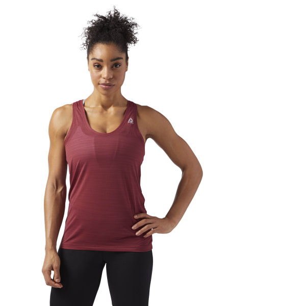 0212bb614e9c9 Workout Ready ACTIVCHILL Tank Urban Maroon CD7583