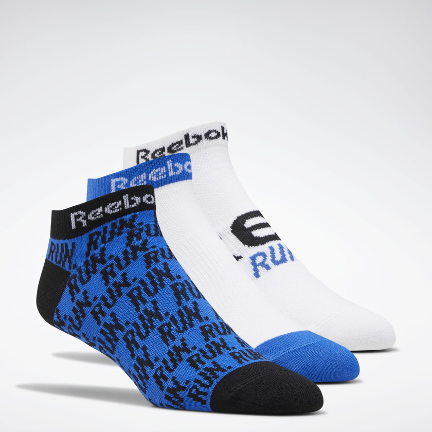 3-Pack Reebok Men's Run Club Socks