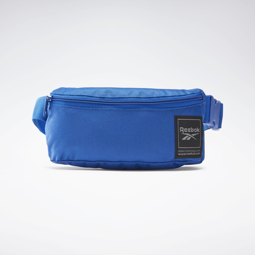 Reebok Workout Ready Waist Bag - Blue | Reebok GB