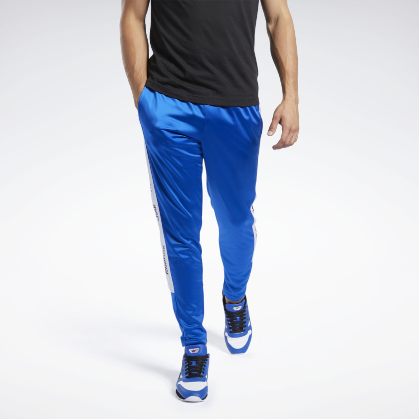 Reebok Men's Training Essentials Linear Logo Track Pants