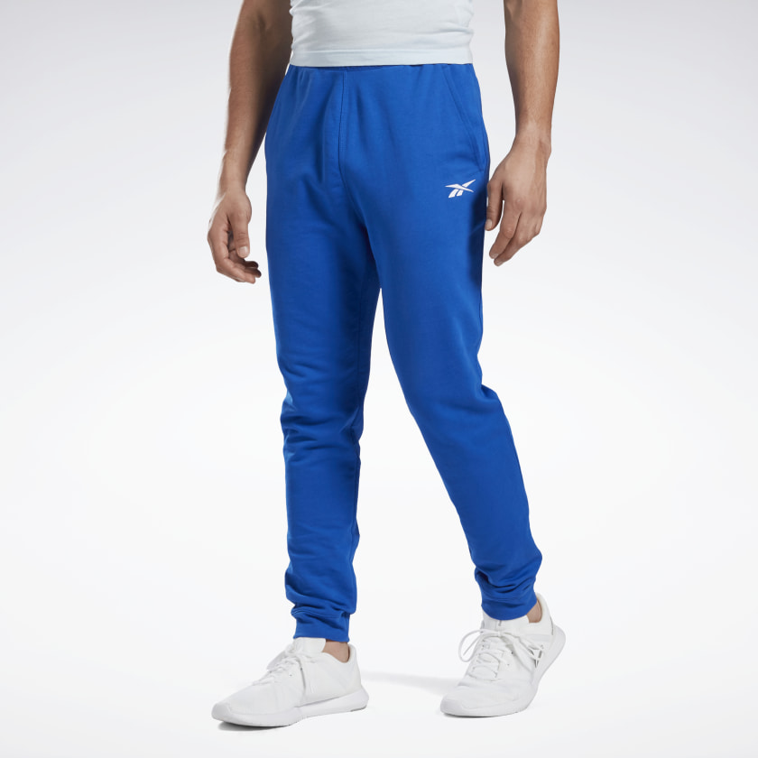 Reebok Training Essentials Linear Logo Joggers - Blue | Reebok GB