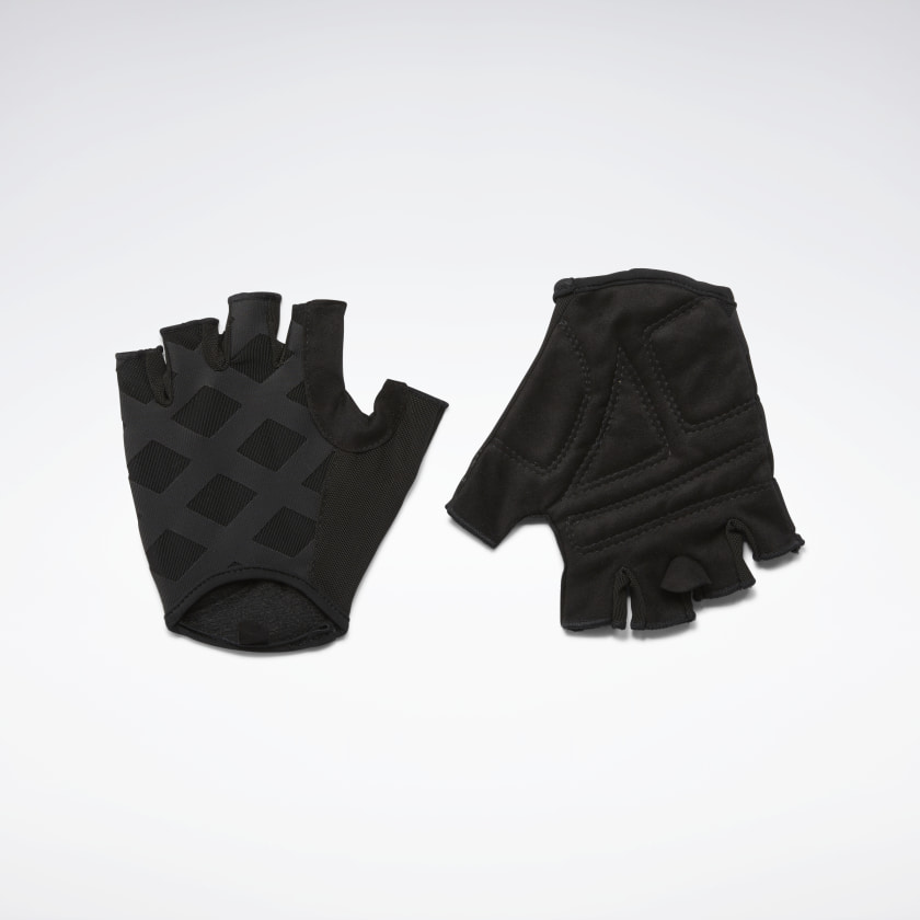 Reebok Studio Gloves - Black | Reebok GB