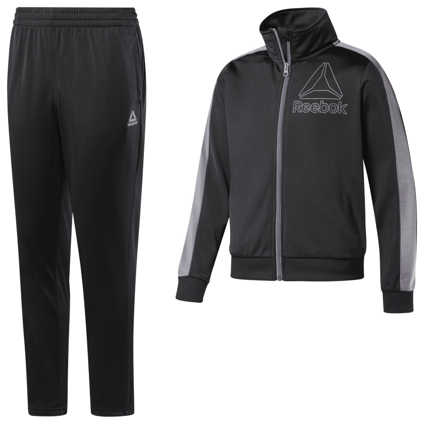 At The Buzzer Boys Tricot Track Suit Athletic Pants and Jacket Sweatsuit Set