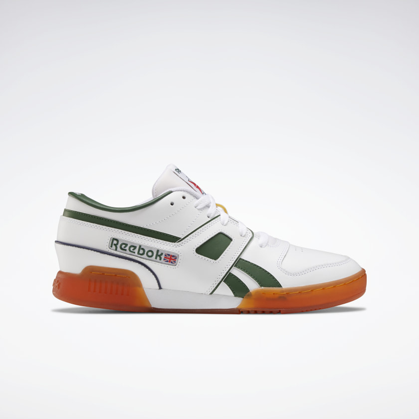 Reebok Pro Workout Lo Shoes - White | Reebok GB