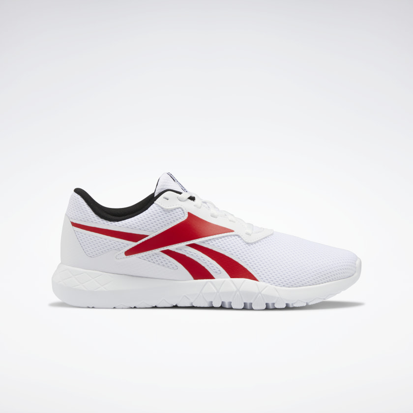Reebok Flexagon Energy TR 3.0 Men's Training Shoes (White / Vector Red / Core Black)