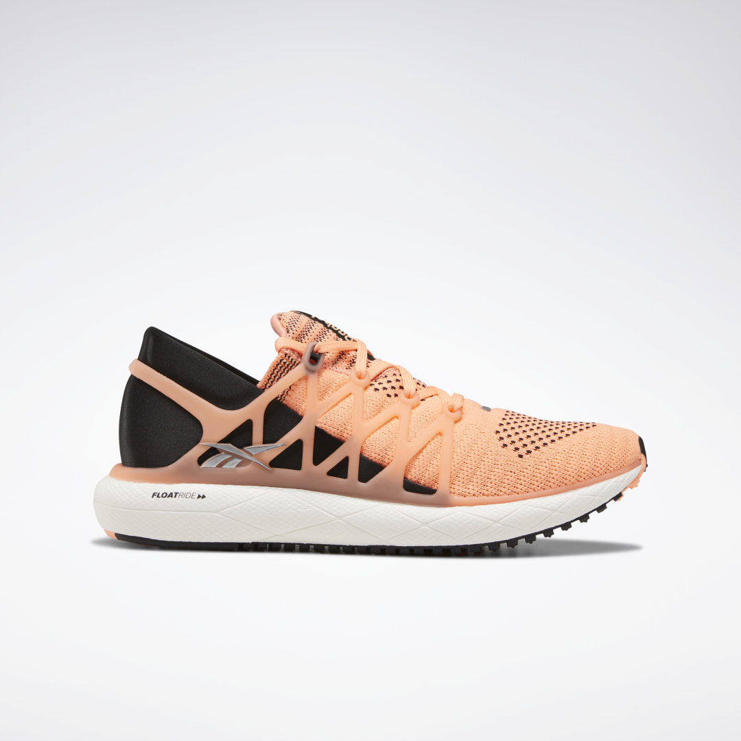Designed for logging everyday miles, these women\'s running shoes deliver a responsive ride. They have a lightweight knit upper with a soft, flexible TPU cage and a lacing system that offers a secure, custom fit. Padding at the heel reduces slip, and soft,