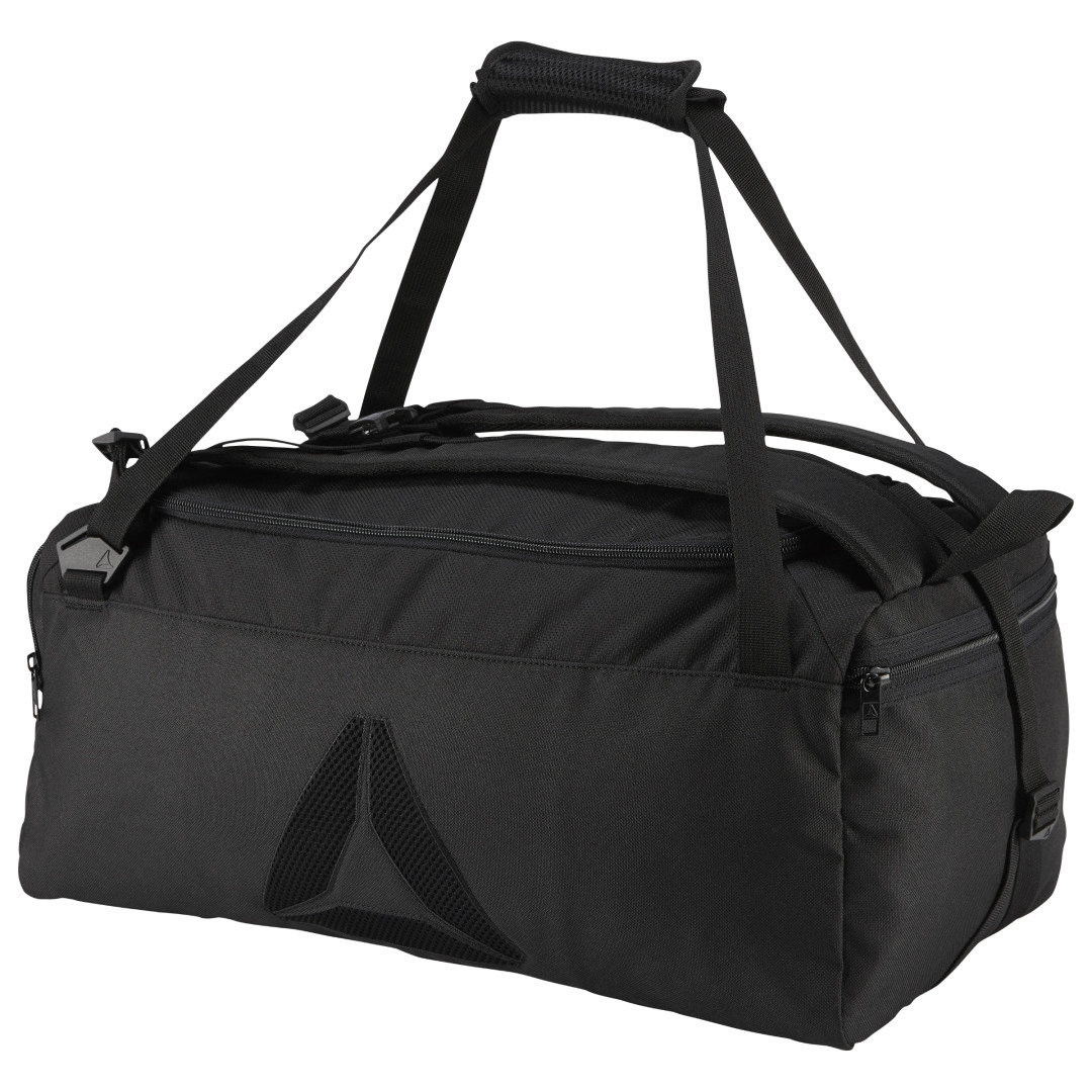 Keep your essentials organized with this spacious bag. A separate compartment offers room for shoes and sweaty gear, while side pockets provide easy access to smaller items. An external compartment secures your laptop. The padded shoulder straps and dual