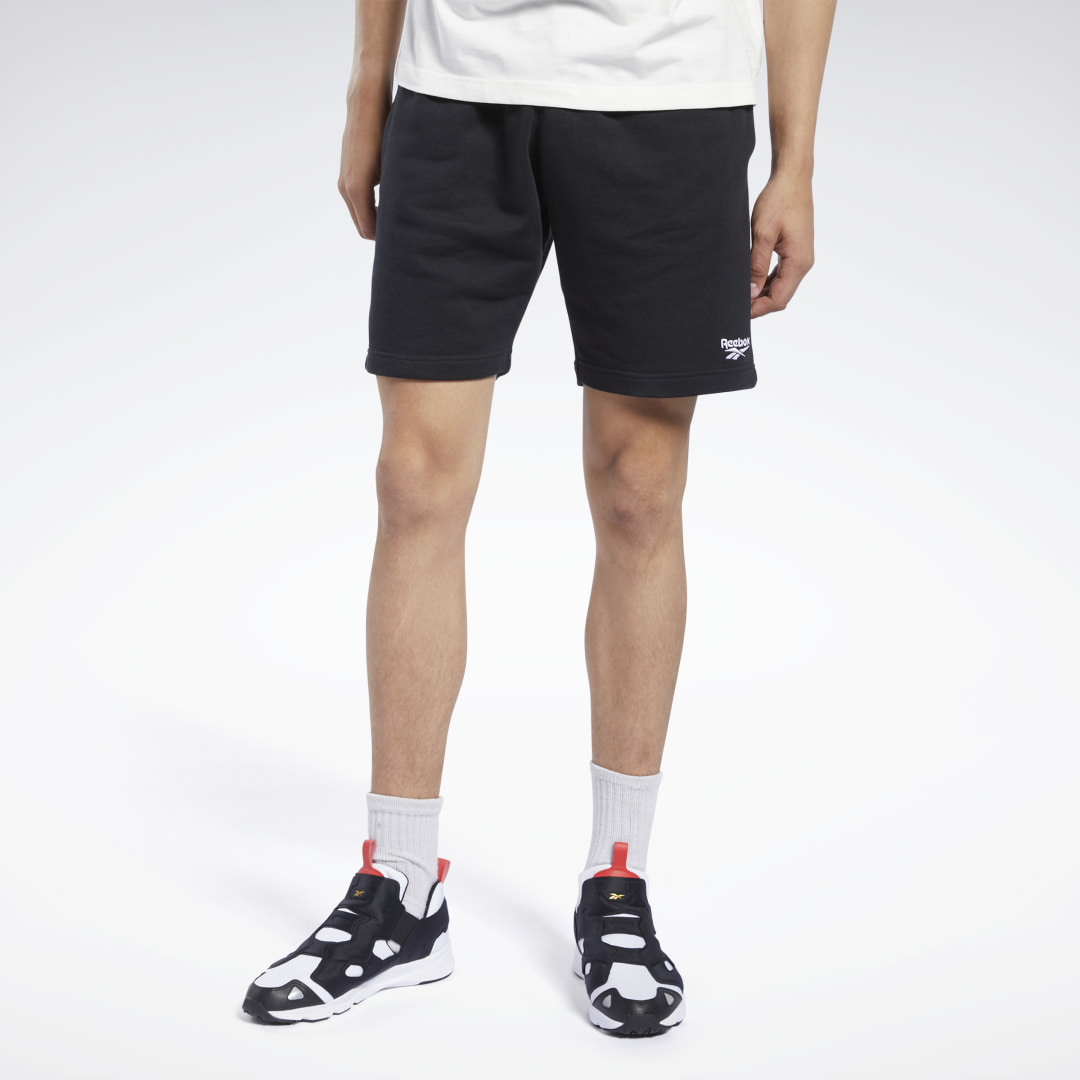Sport meets street. These men\'s shorts feature a contrast Vector logo for authentic style. All-cotton French terry gives them a plush softness. 100% cotton French terry Regular fit Side seam pockets Drawcord on elastic waist Vector logo on leg Imported