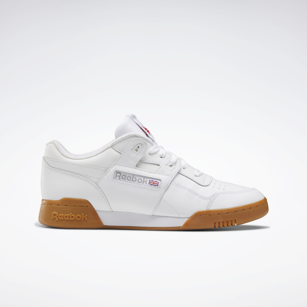 We\\\'re reminding sneakerheads why our men\\\'s Workout Plus shoe is so iconic by getting back to basics. The minimally styled upper keeps the focus on the iconic H-strap. Soft full grain leather upper for comfort and support Low-cut design for mobility and fr