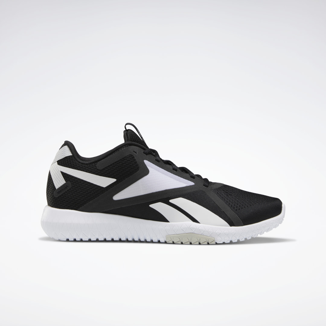 Wherever you\\\'re headed, these men\\\'s training shoes provide lightweight comfort in a streamlined package. A breathable mesh upper keeps feet cool, and a lightweight EVA midsole with flex grooves offers extra flexibility. An origami-look sidewall gives them