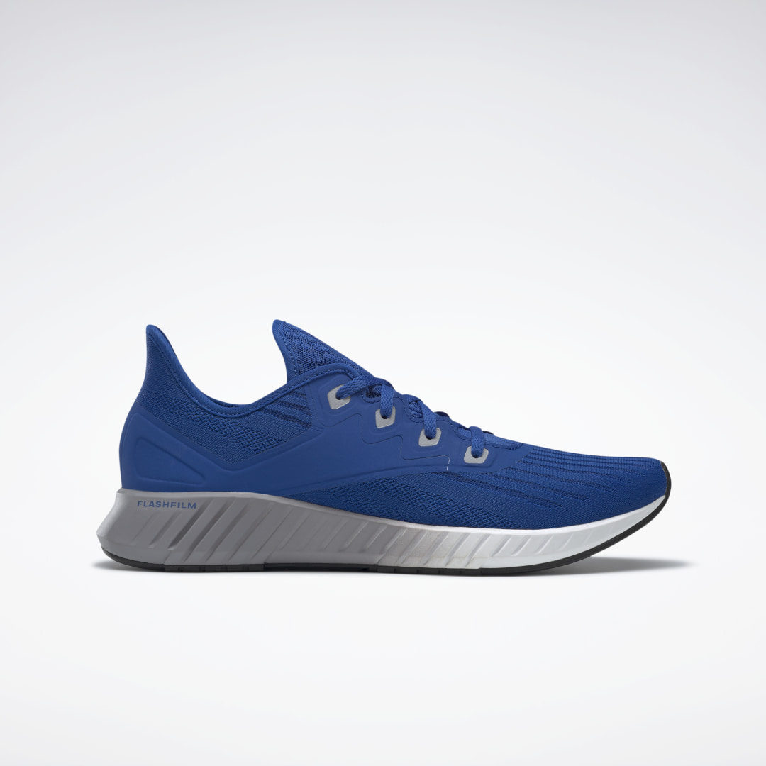 Sleek and lightweight, these men\'s running shoes provide outstanding comfort for everyday wear. They have a breathable mesh upper and a super light midsole wrapped in TPU film for a bold look. The flexible rubber outsole features carved areas for traction