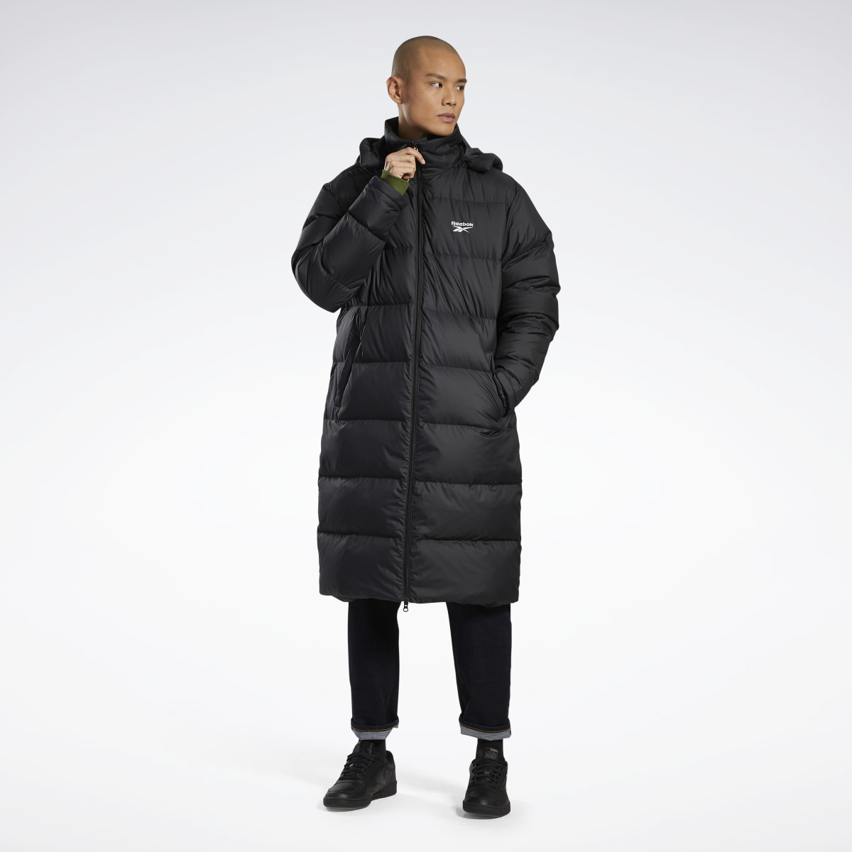 Core Long Down Jacket