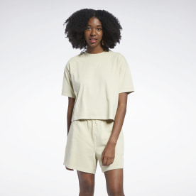 Reebok Classics Natural Dye Cropped T-Shirt