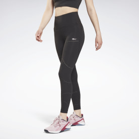 Lux Perform High Rise Perforated Leggings