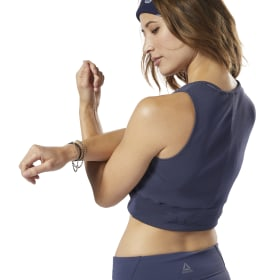 Crop top LES MILLS® Novelty