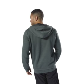Training Essentials Marble Full-Zip Hoodie