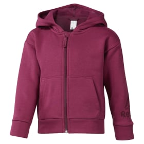 Girls Elements Fullzip Fleece Hoody