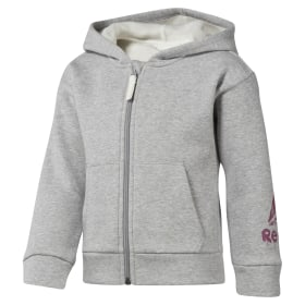 Girls Training Essentials Fullzip Fleece Hoody