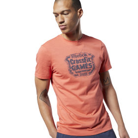 Reebok CrossFit® Distressed Crest Tee