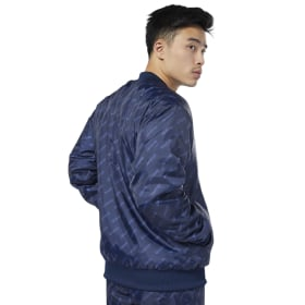 Chamarra Classic Leather Bomber