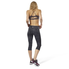 Workout Printed Capri