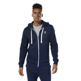Felpa con cappuccio Classics Fleece Full-Zip