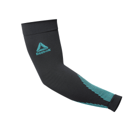 Knitted Compression Arm Sleeve - Black